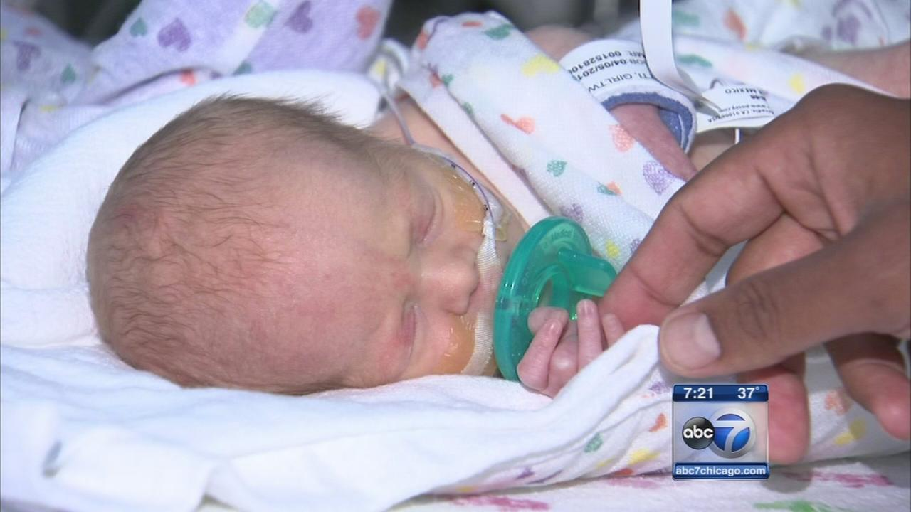 South suburban hospital sees baby boom of twins