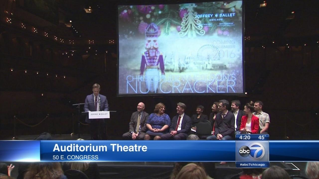 Nutcracker with a Chicago twist