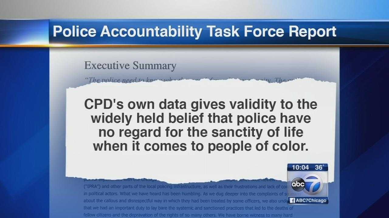 Panel urges CPD to acknowledge racism in scathing report