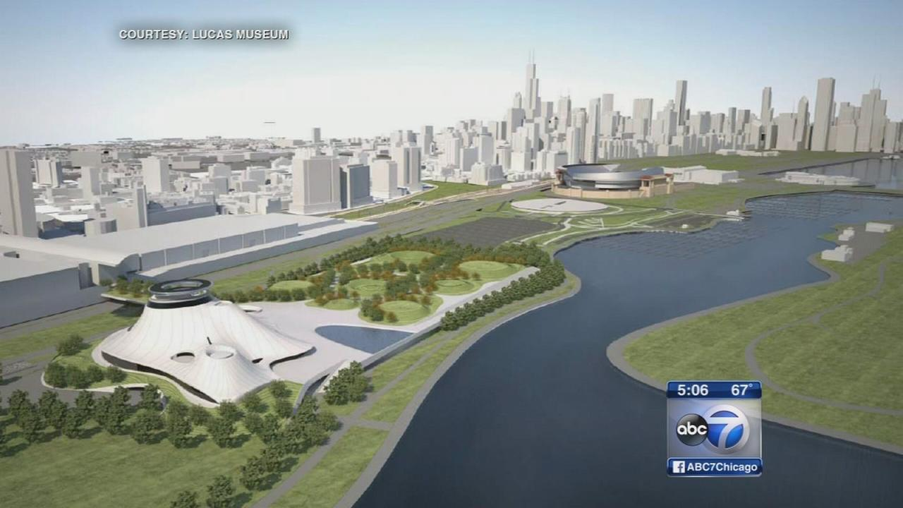 City proposes moving Lucas museum to McCormick Place East