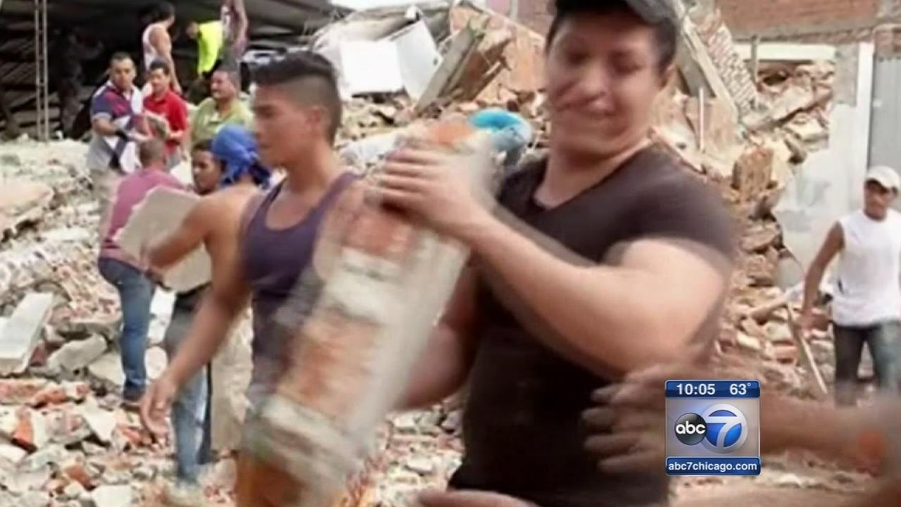 Chicagoans concerned as Ecuador earthquake death toll rises