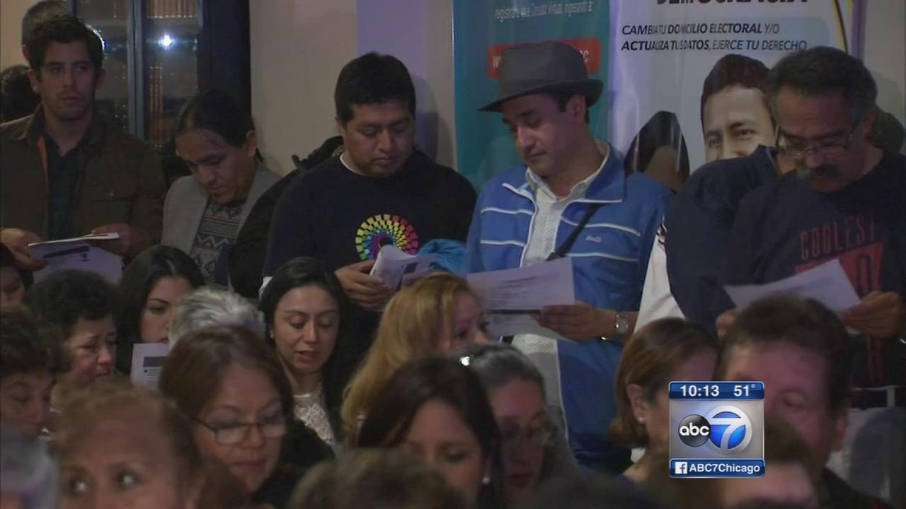 Hundreds in Chicago mobilize to help Ecuador quake victims