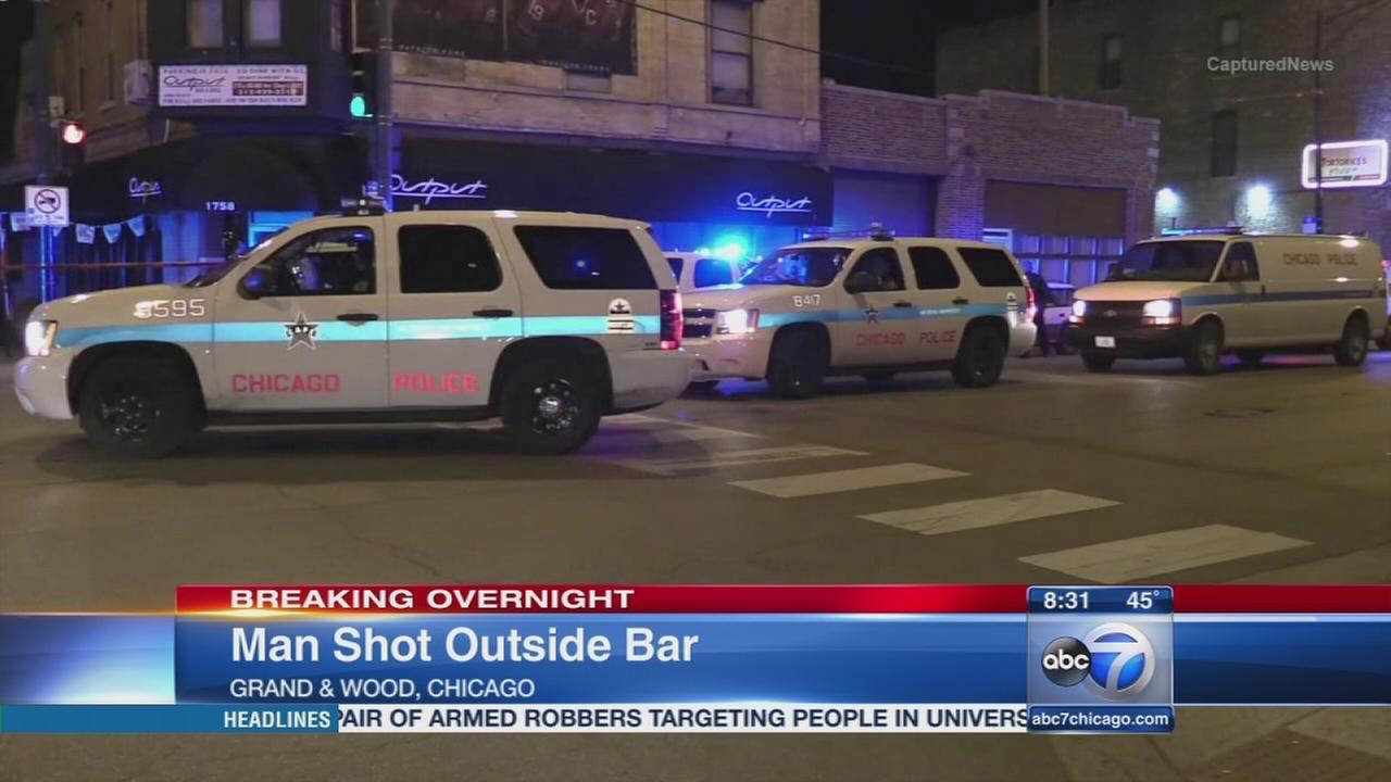 Man shot in West Town