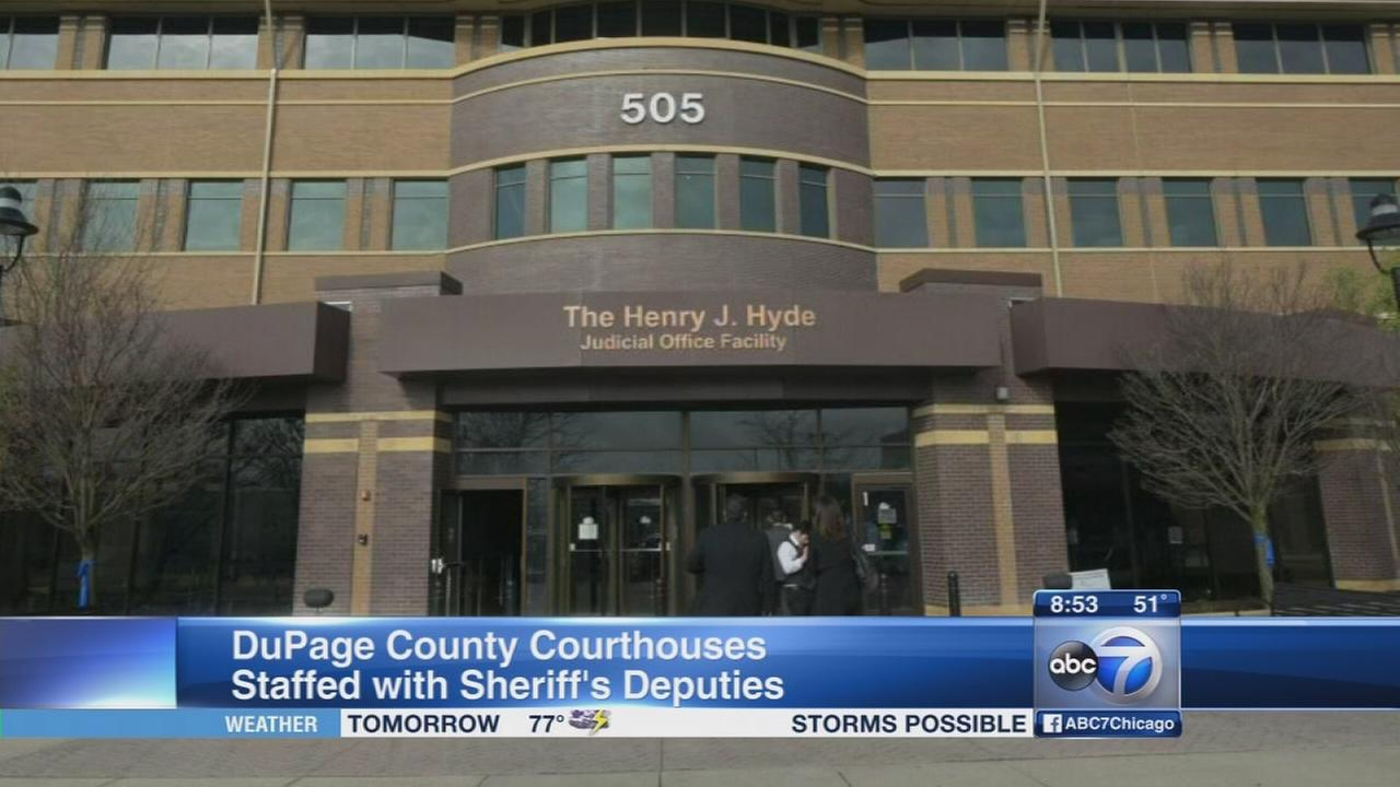 Daily Herald: Security at DuPage County courtrooms