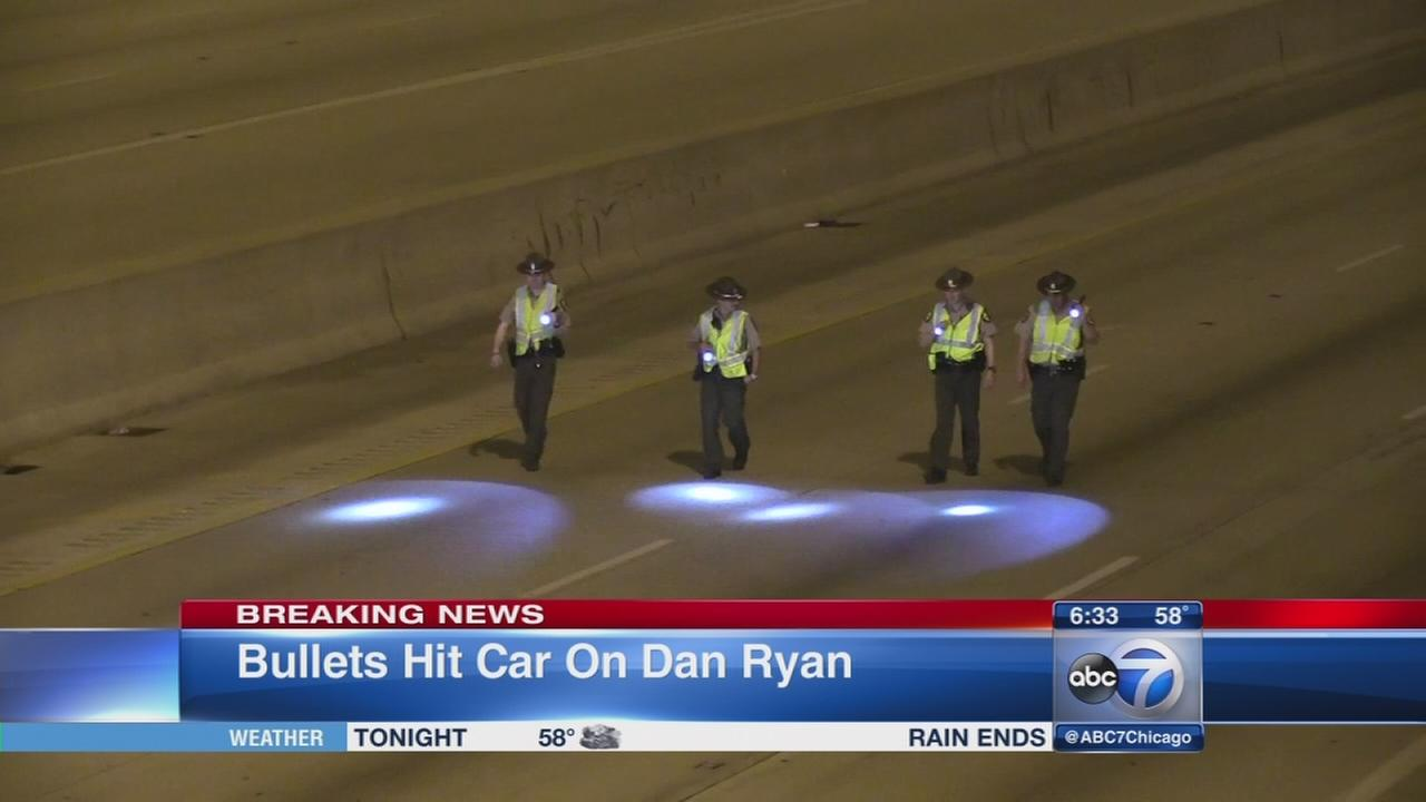 Shots fired on outbound Dan Ryan