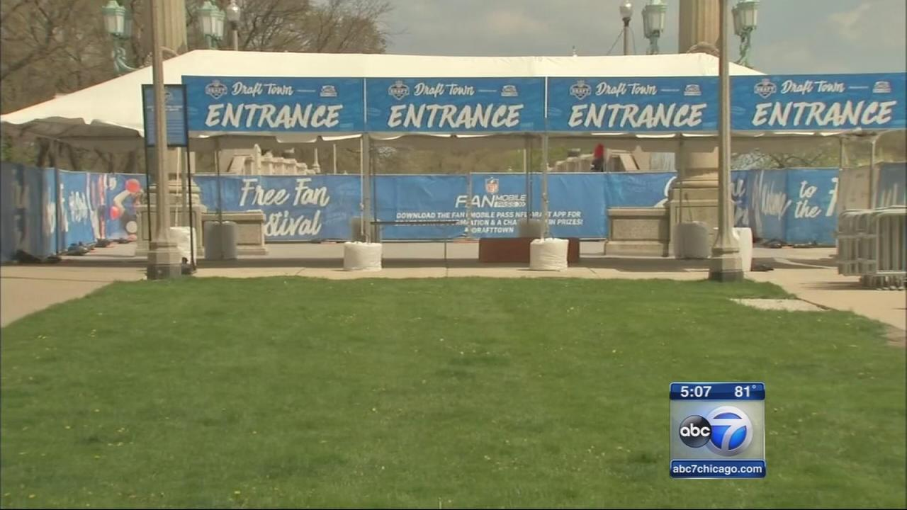 Grant Park transforming into Draft Town