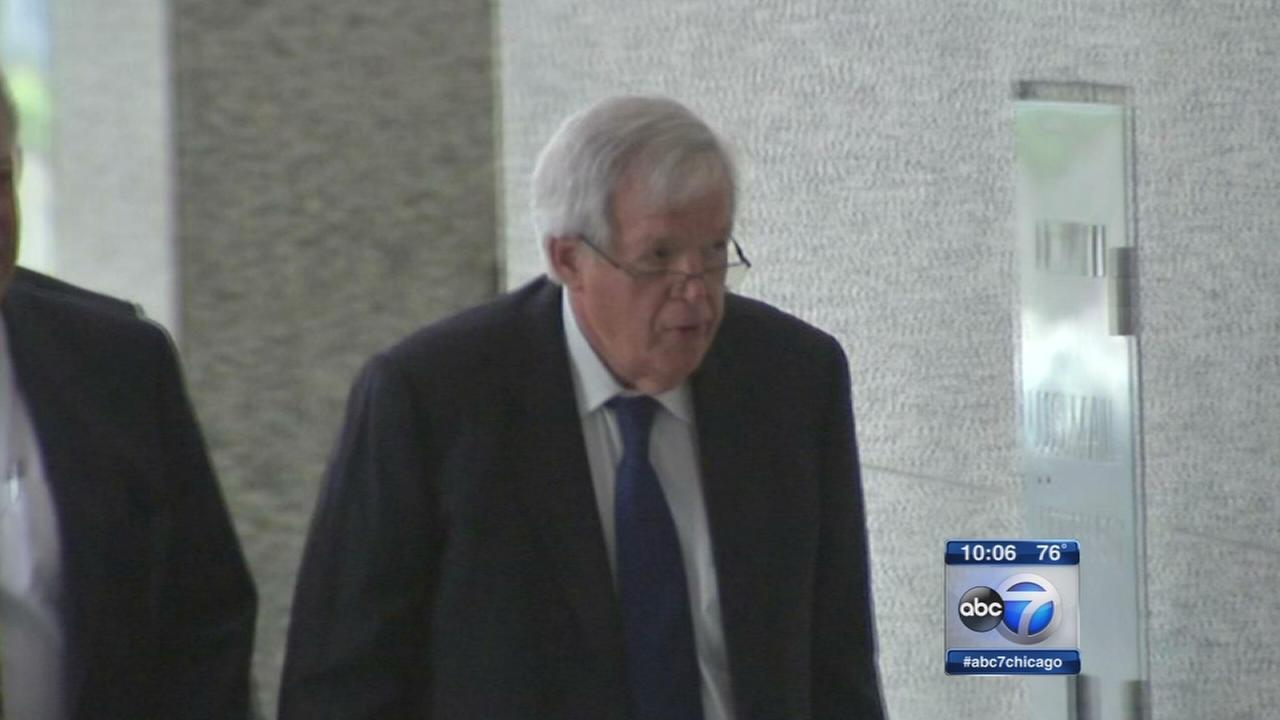 Individual A sues Hastert for breaking contract