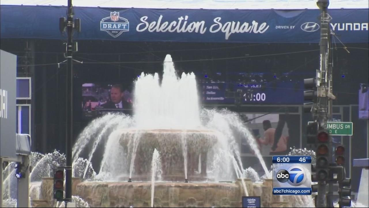 NFL Draft Town opens in Grant Park