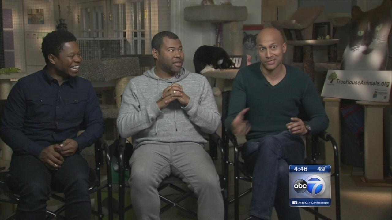 Key and Peele talk about Keanu movie, cats - mostly cats