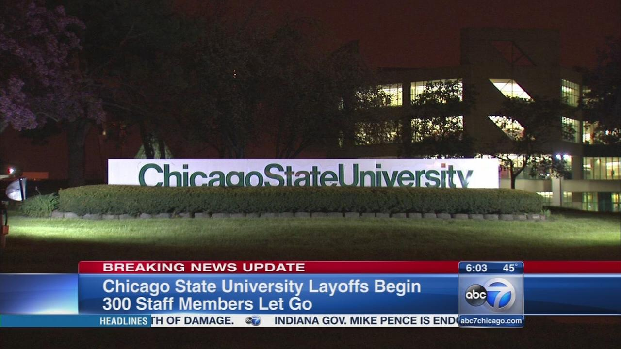 Chicago State University announces 300 layoffs