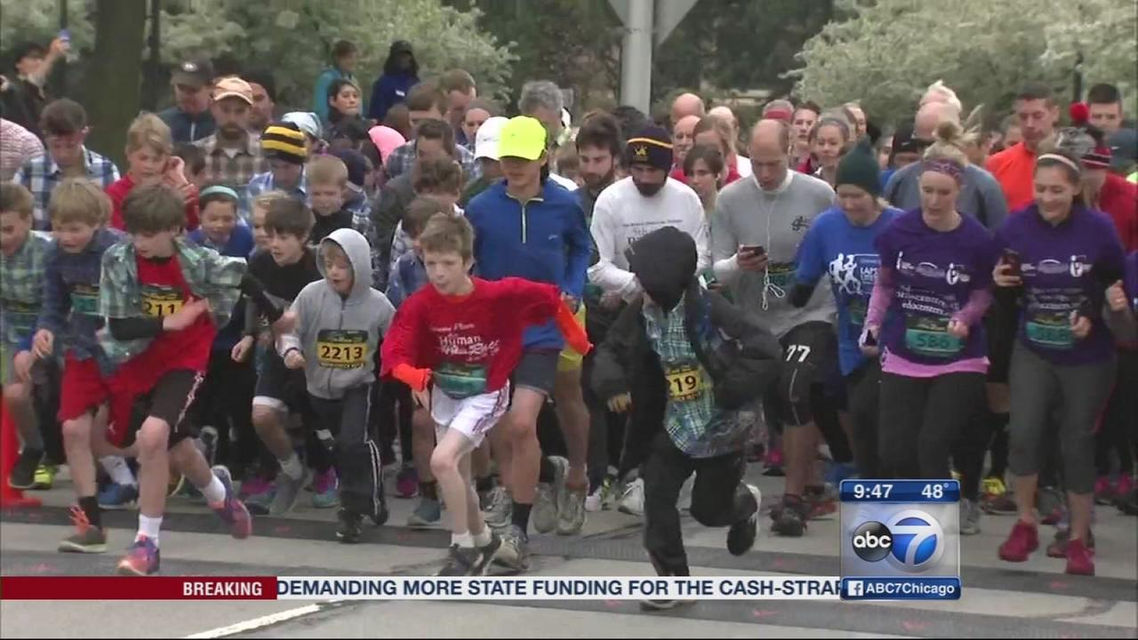DuPage Human Race supports local charities