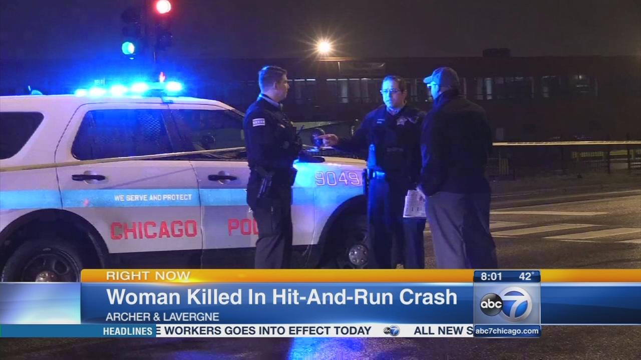 Woman killed in hit and run near Midway
