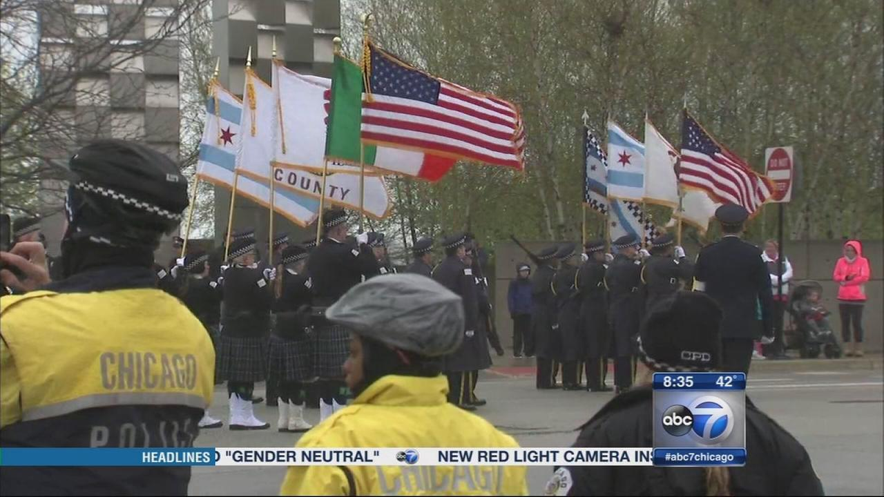 St. Jude March for fallen officers held today