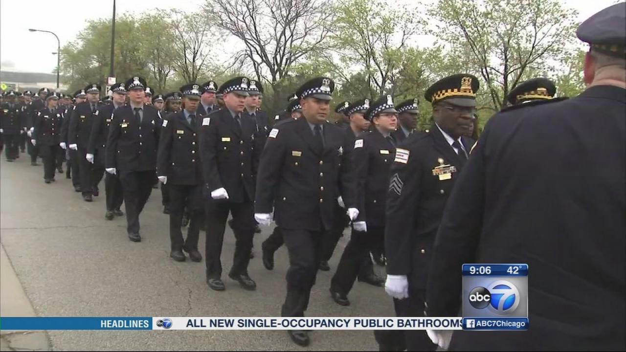 St. Jude Memorial March honors fallen officers