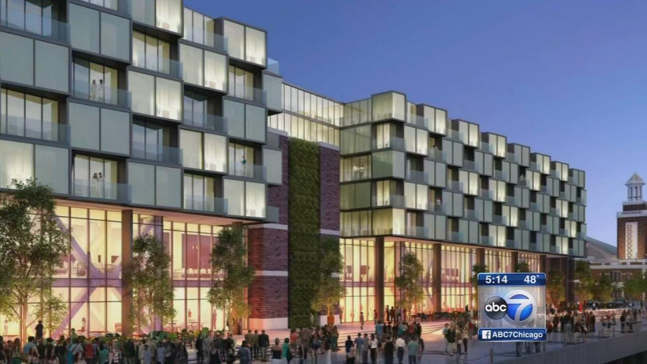 Hotel planned for Navy Pier