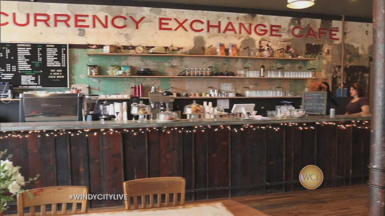 New Currency Exchange Cafe