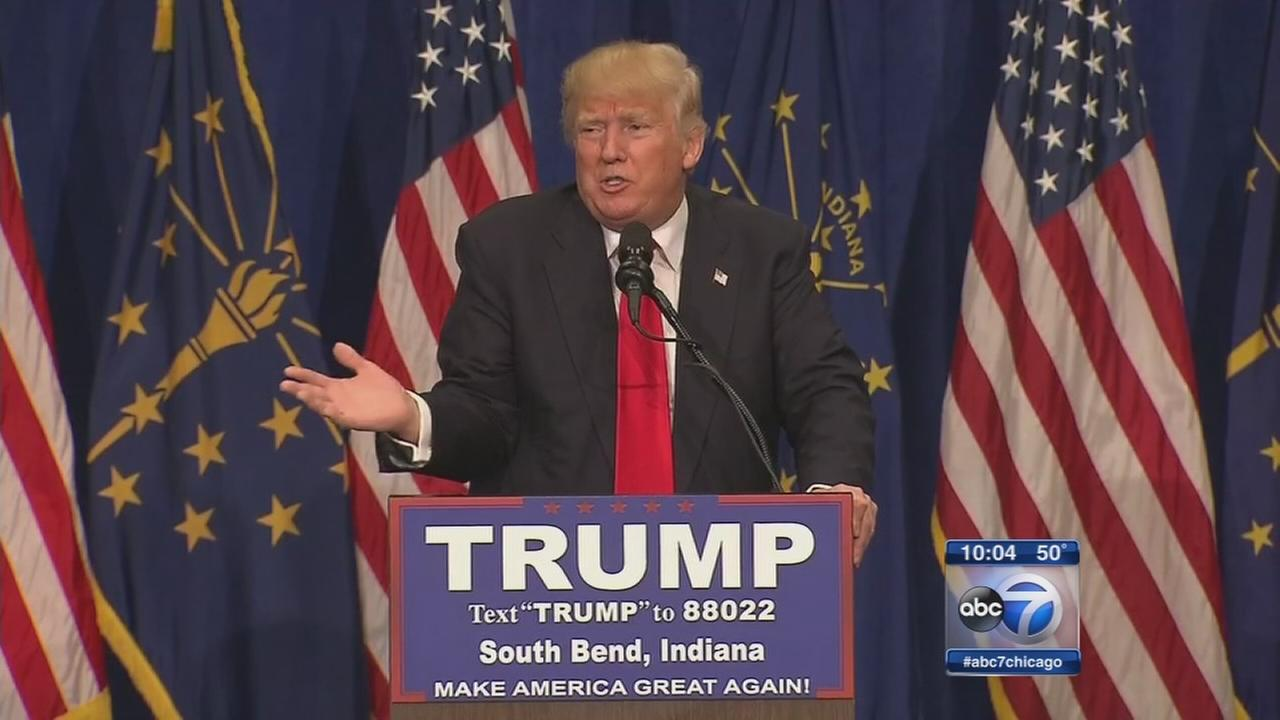 Trump rallies in South Bend