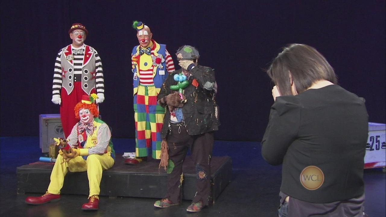 Ji confronts her clown fear