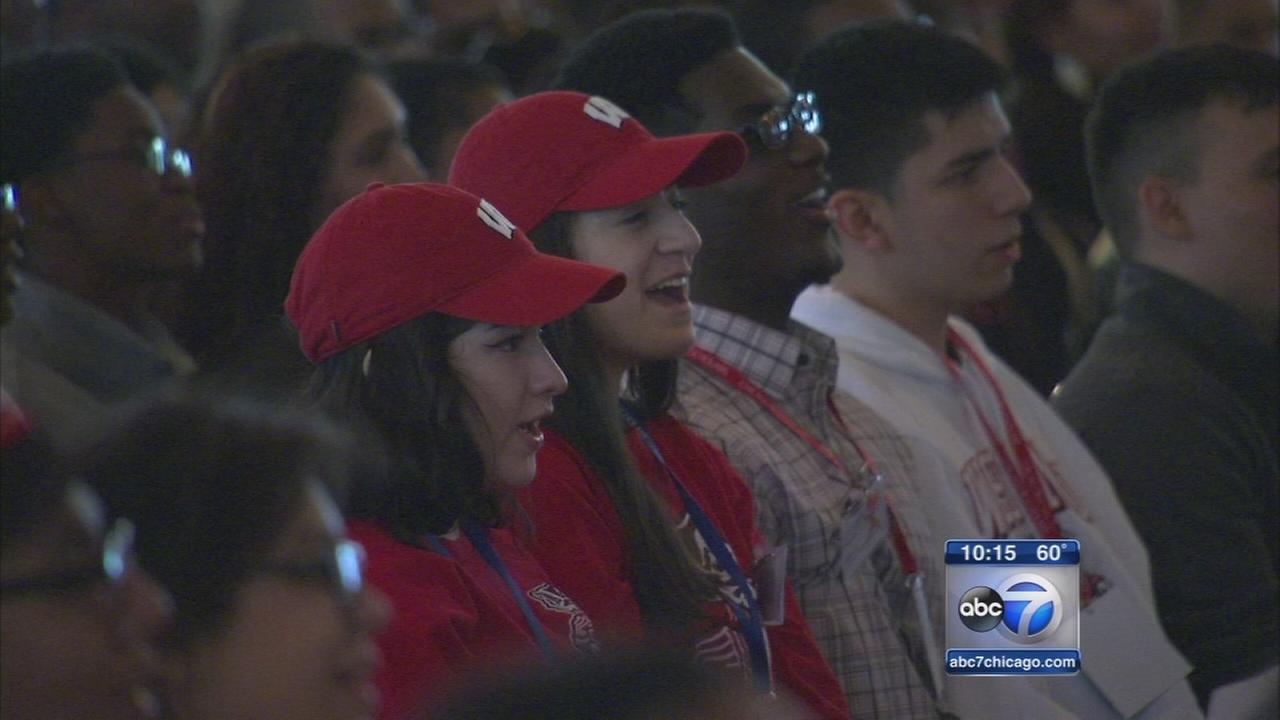 First-generation college students celebrate accomplishments