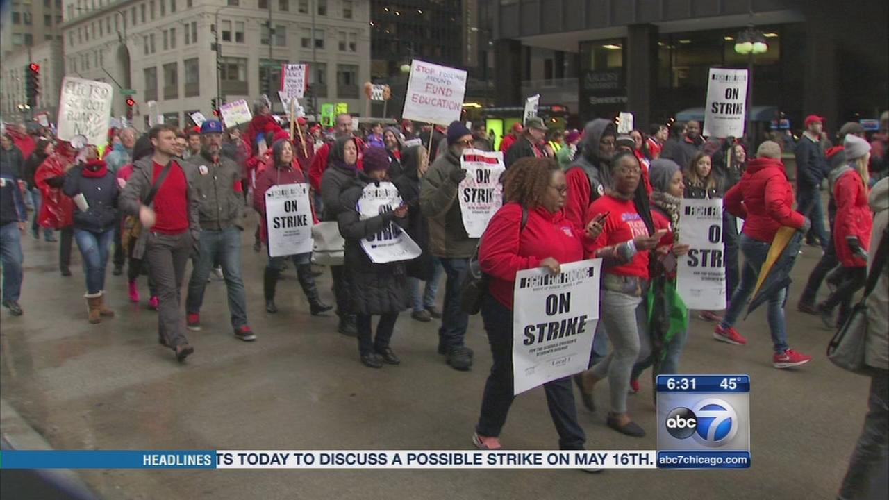 CTU to discuss possible May 16 strike