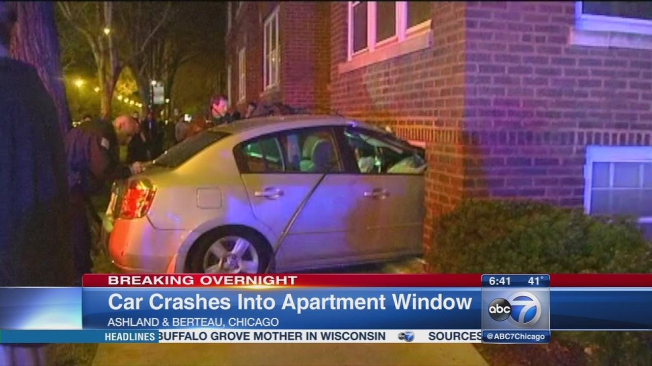 Chase ends in North Side crash