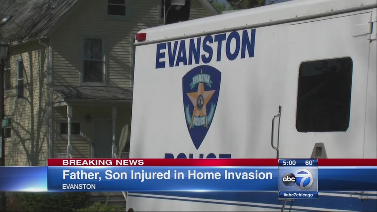 2 injured in Evanston home invasion