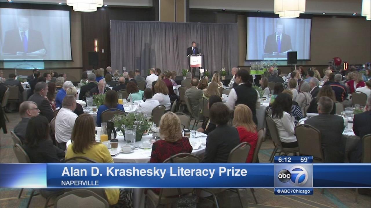 Inaugural Alan D. Krashesky Literacy Prize awarded