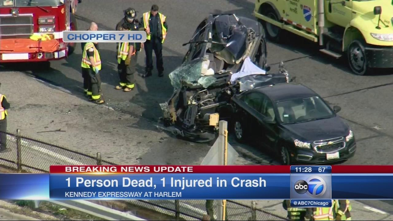 1 dead, 1 hurt in Kennedy crash