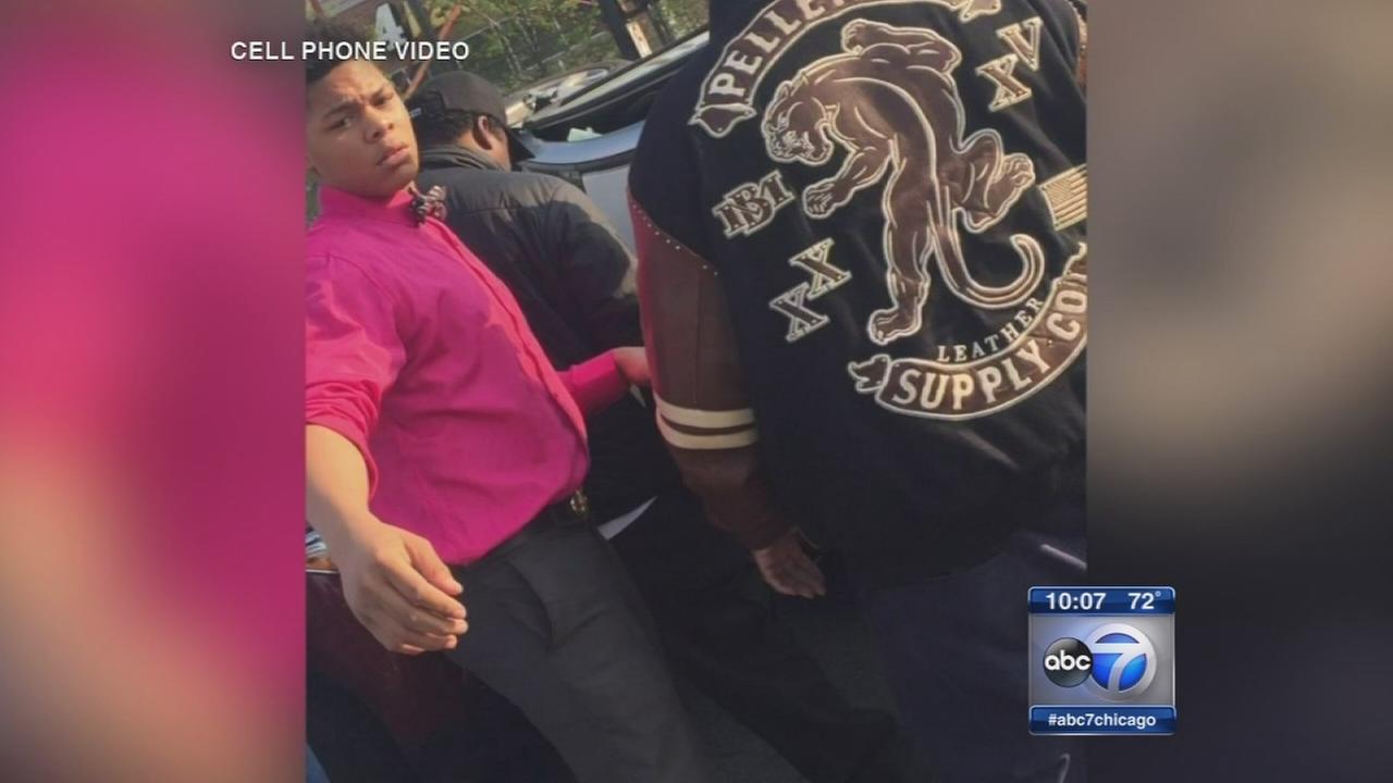 Students celebrated after helping crash victim