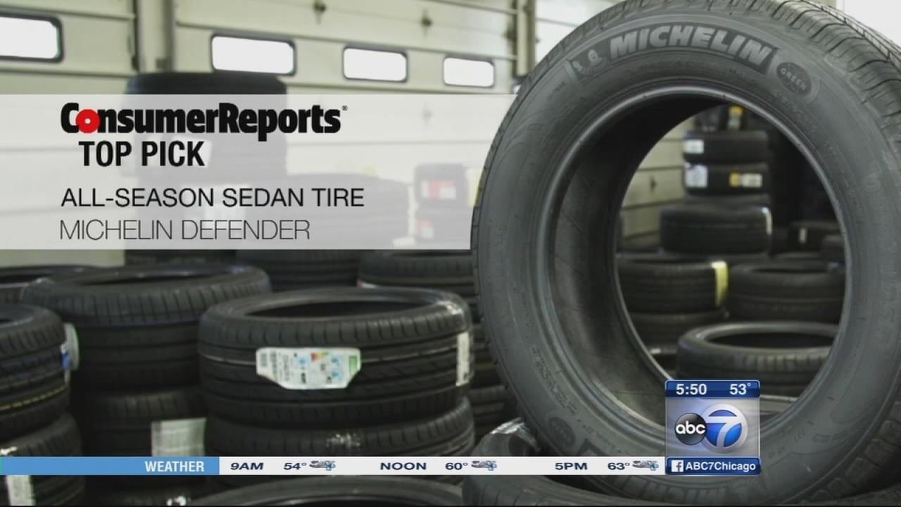 Consumer Reports Top all-season tires
