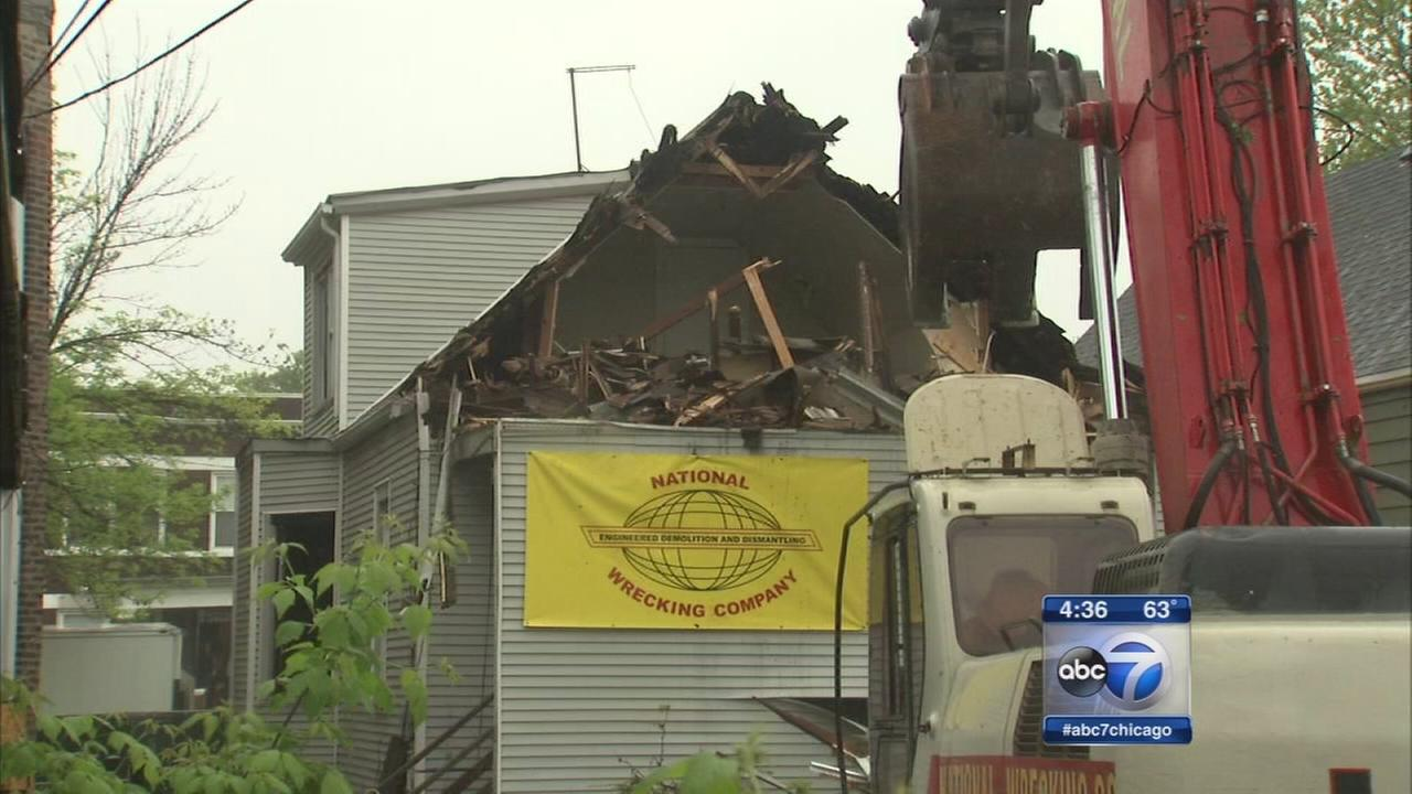 100th building torn down
