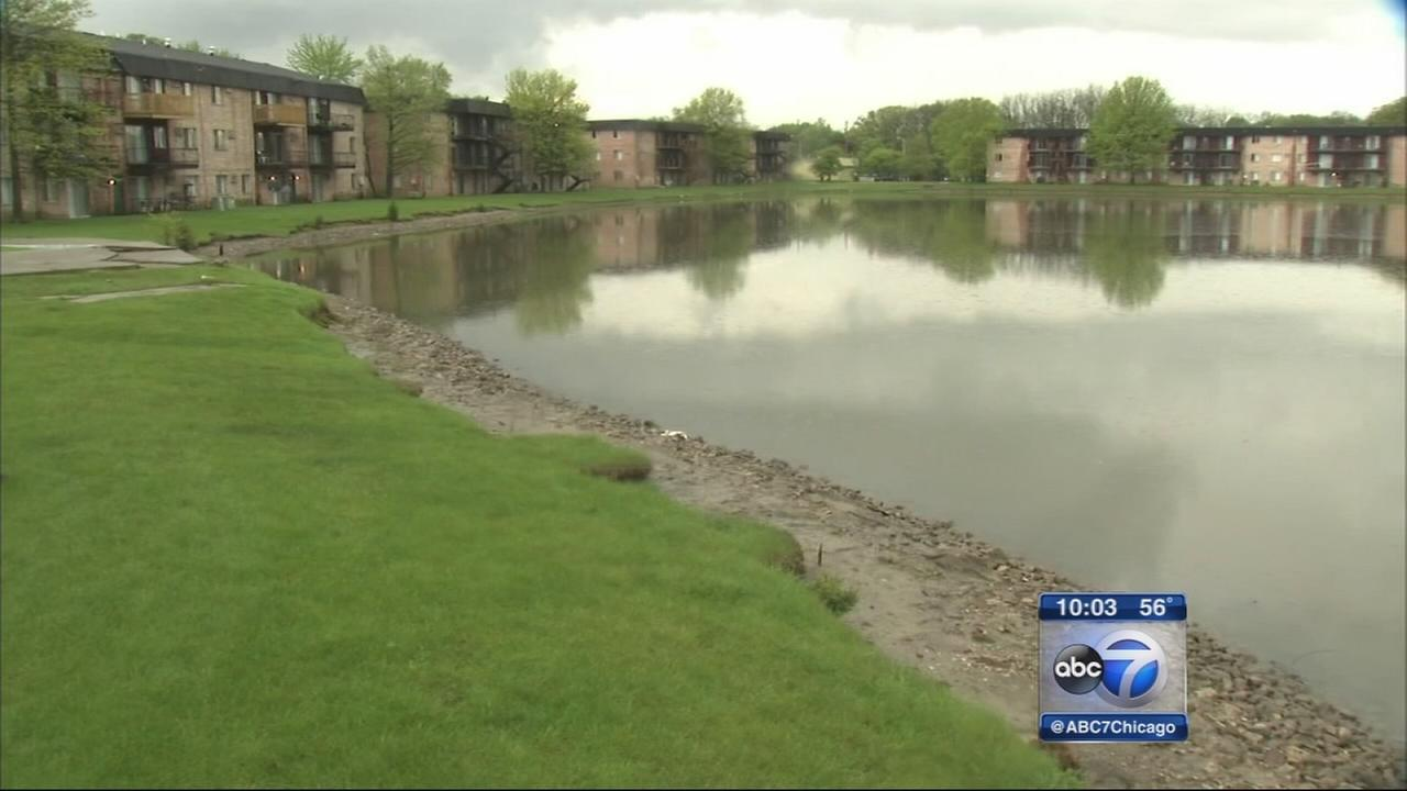 2-year-old rescued from pond in Merrillville
