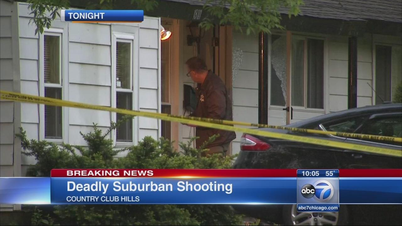 Shooting in Country Club Hills