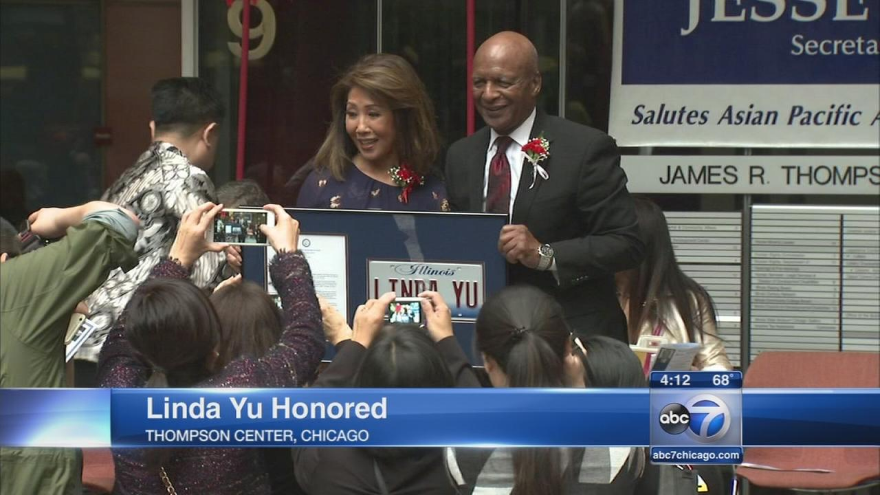 Linda Yu honored by Sec. of States Office