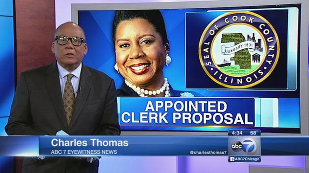 Cook County clerk to remain elected