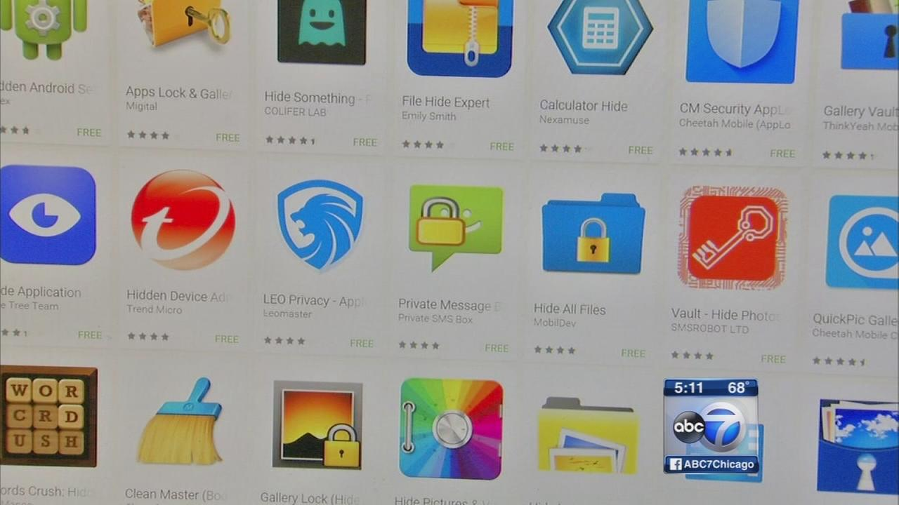 Free apps help smartphone users hide information