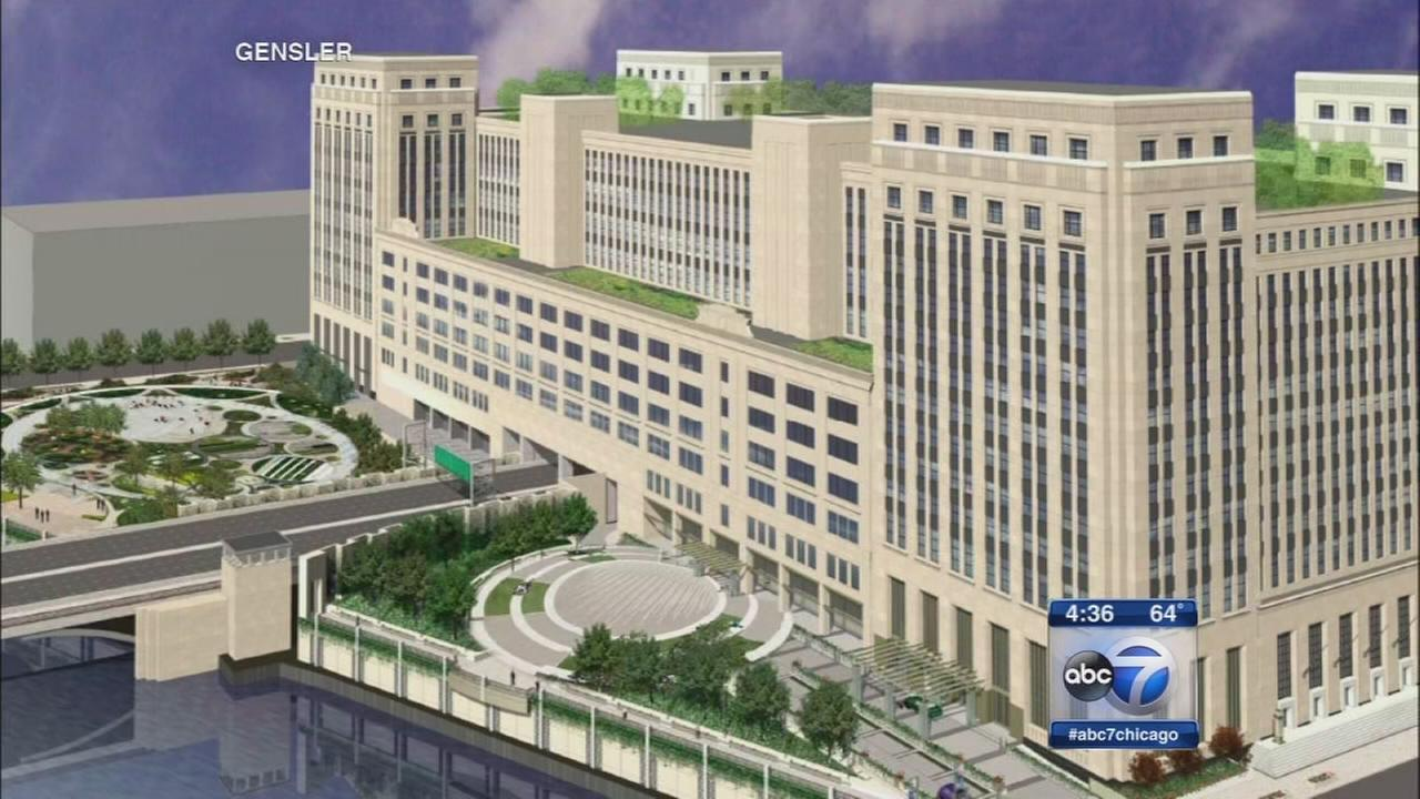 Deal reached to redevelop Old Main Post Office | abc7chicago.com