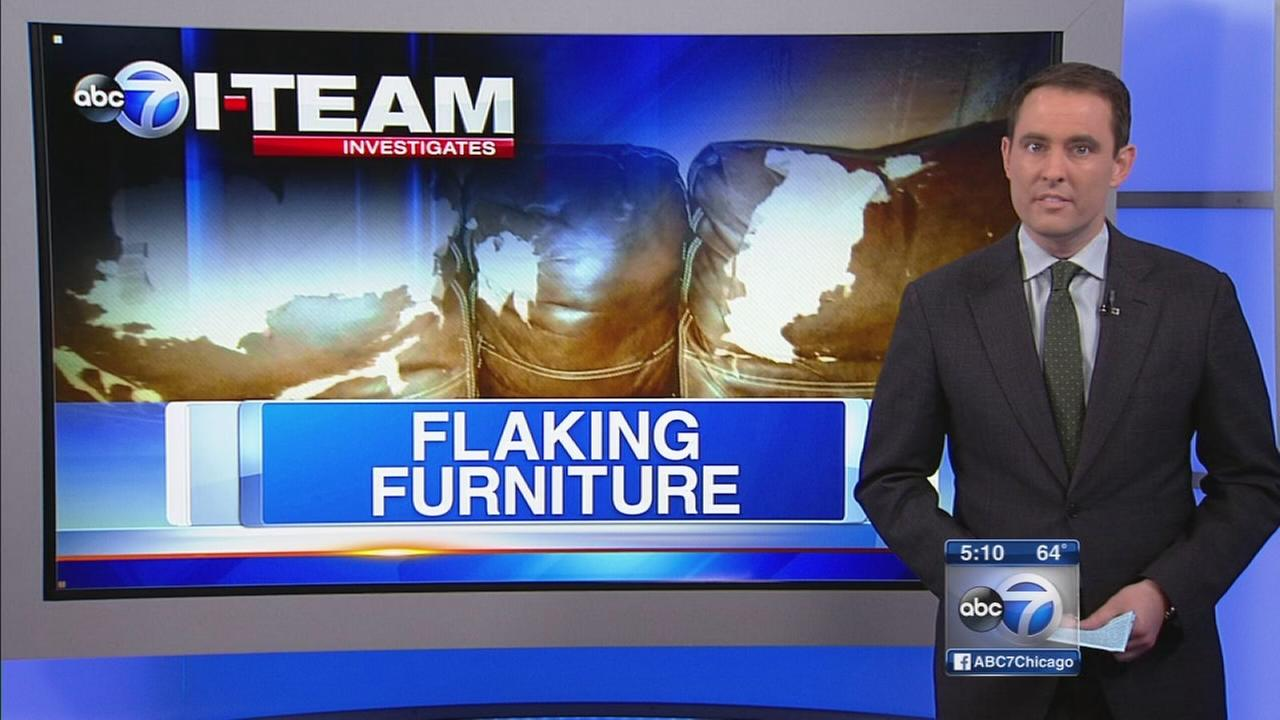 I-Team Flaking Furniture Follow-up