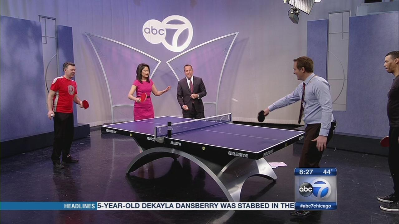 Unplug and unwind with table tennis