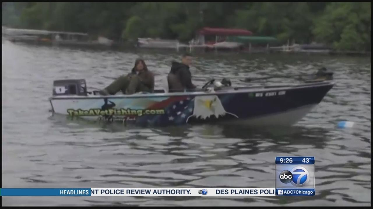 Honoring veterans with a day of fishing