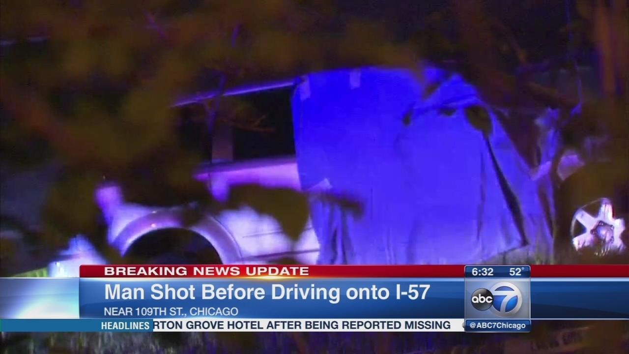 Man found dead on I-57