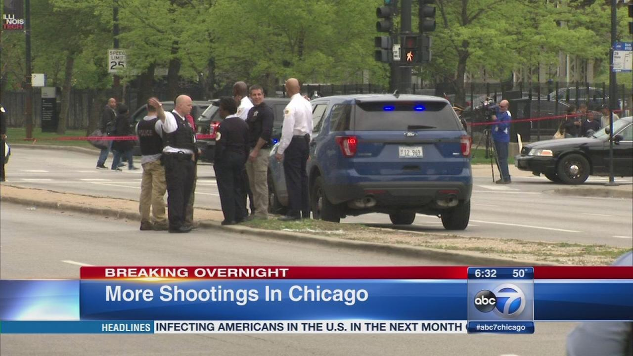 5 killed, 34 wounded in Chicago