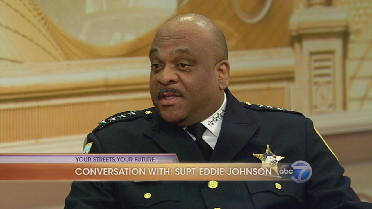 Interview with Chicago Police Supt. Eddie Johnson