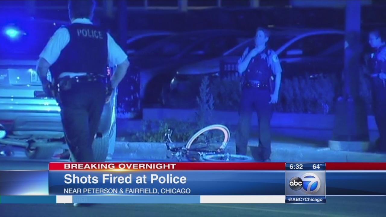 Man on bike shot at officers in West Ridge