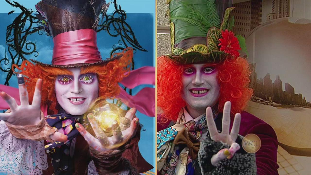 Ryan as the Mad Hatter