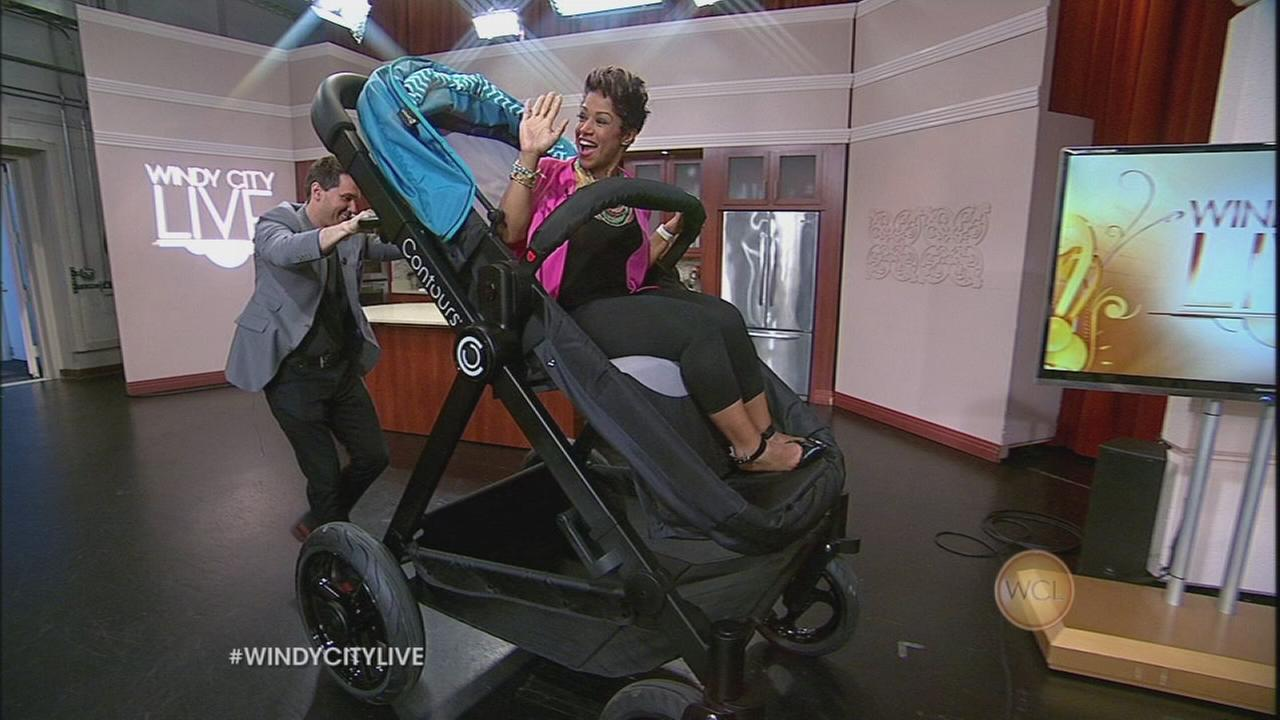Chicago company creates an adult-sized stroller!