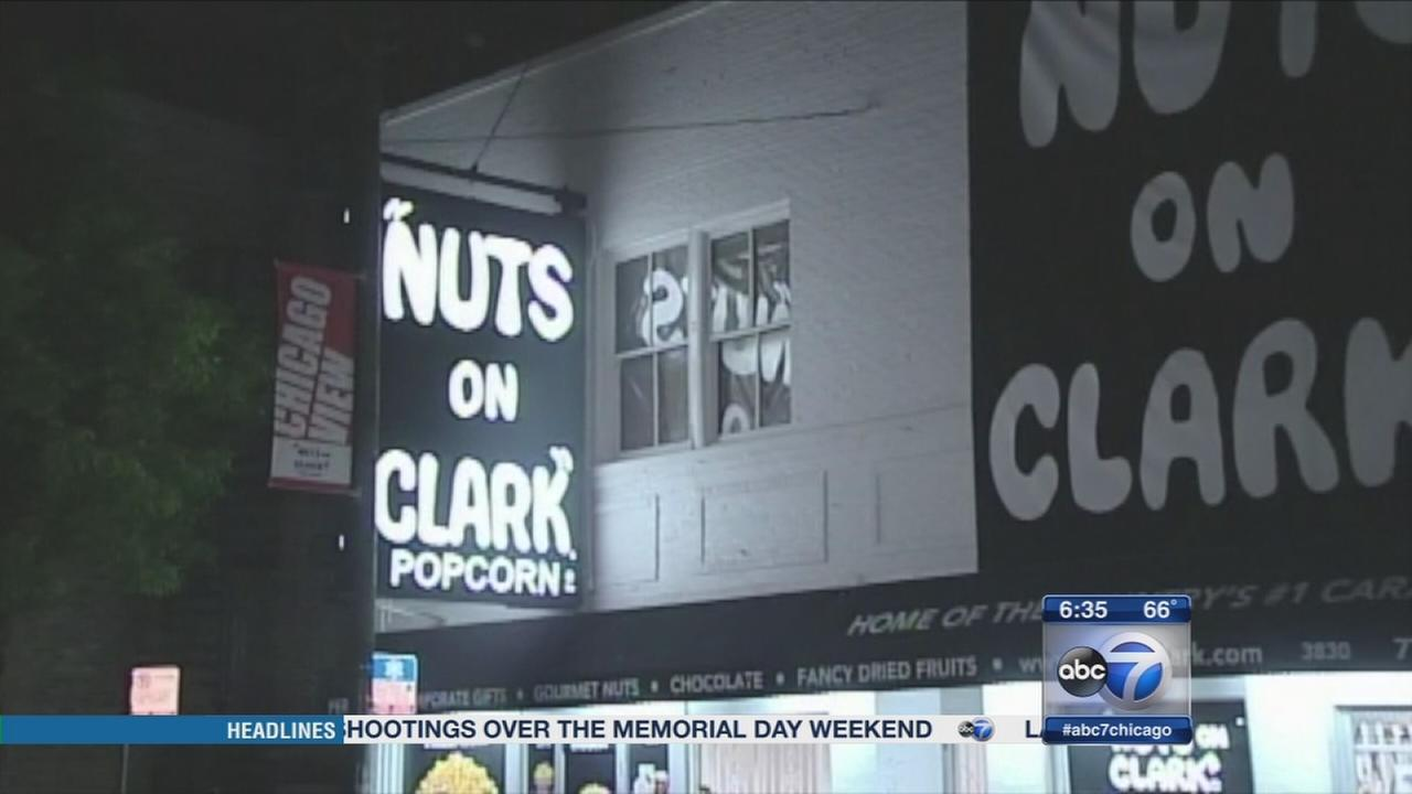 Nuts on Clark robbed again