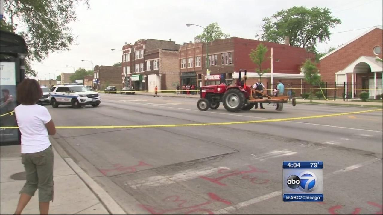7-year-old girl fatally struck on South Side identified