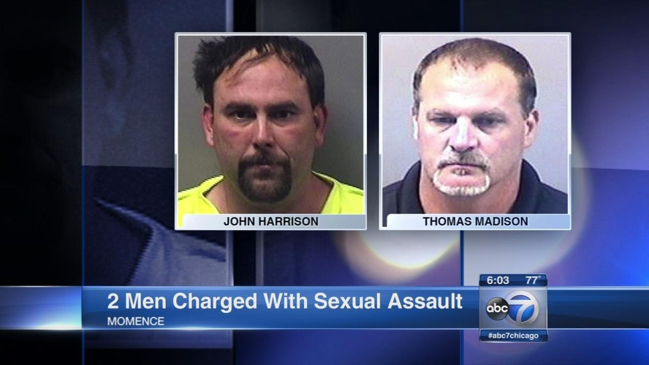 2 charged in rape of Momence bartender