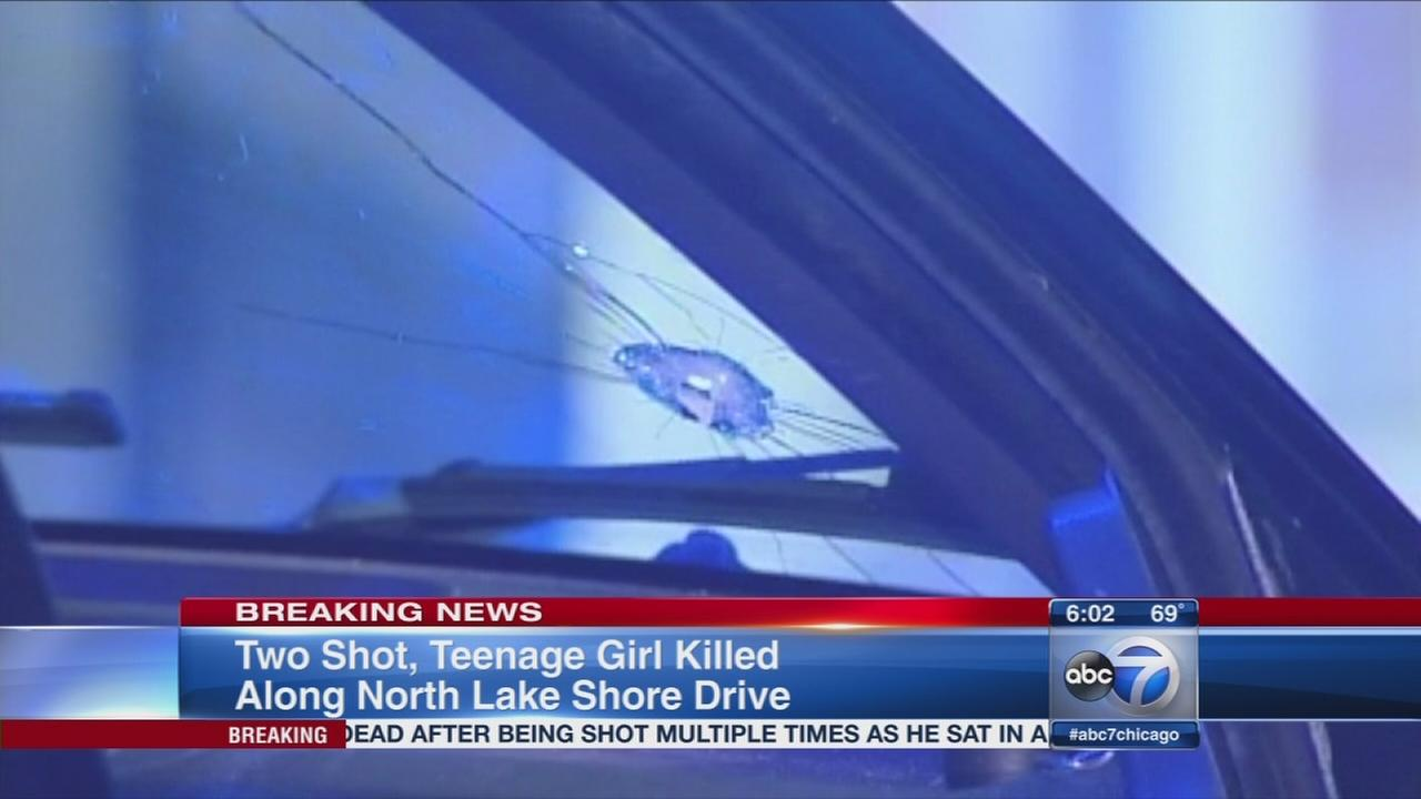 Two shot teen killed on Lake Shore Drive